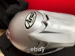 Arai MX-3 vintage evo super twinshock Helmet motocross Large 59-60cm