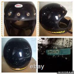 BELL MOTO 3 Helmet motocross Original vintage Size 7 1/8 57