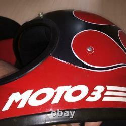 BELL MOTO3 Vintage Red already repair 59cm motocross