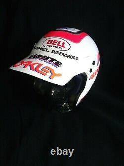 BELL Mag 4 vintage Motocross helmet, Twinshock EVO VMX, no Honda CR 125 250 500