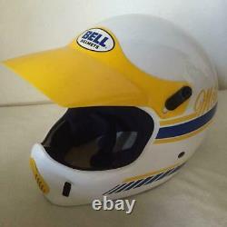 BELL Moto 4 Helmet motocross vintage 1970S Size M/M