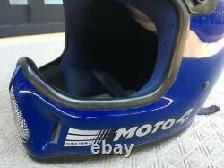 BELL Moto 4 Helmet motocross vintage genuine visor