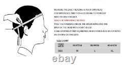 BEON B100 Retro Ultra 3/4 Half Face Vintage ABS Motorcycle Helmet