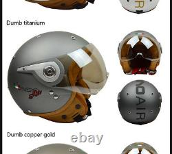 BEON Motorcycle 3/4 Open Face Half Helmet Chopper Vintage ABS Helmets New Colors