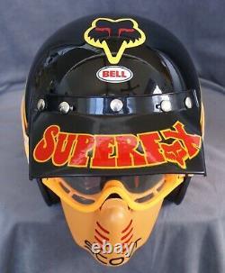 Bell Helmet Ahrma Vintage Motocross Fox Supercross Dirtbike MX Dg Fmf Jt Racing