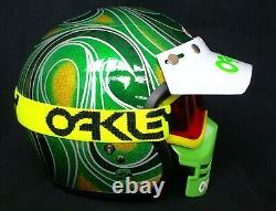 Bell Helmet Vintage Motocross Fox Supercross Dirtbike MX Kawasaki Dg Fmf Jt Fmf