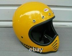 Bell Moto 3 Motocross Helmet Yellow 1981