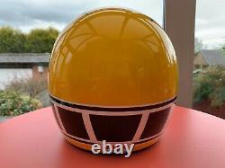 Bell Moto 3 Yamaha Custom Painted Yamaha Vintage Motocross Helmet Bob Hannah LG