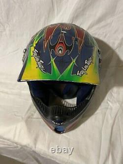 Bell Moto 6 Motocross MX Helmet Vintage Retro Troy Lee Designs Medium