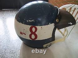 Bell Vintage Helmet Motocross Hallman visor 1976 Pomeroy De Coster Hannah