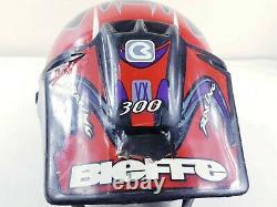 Bieffe Full Face GR-1250 motocross Helmet vintage 1985 X-LARGE made in Italy