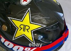 Cooper Webb Race Used Rockstar Energy Vintage Motocross Supercross MX Helmet