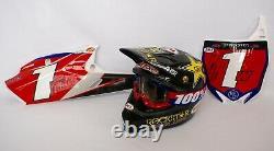 Cooper Webb Race Used Rockstar Energy Vintage Motocross Supercross MX Helmet