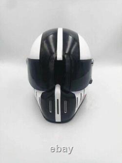 Custom motorcycle helmet fiberglass vintage motocross bike helmet retro