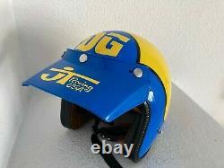DG VINTAGE replica/ tribute helmet Motocross, BMX, JT krw, premier, bell, electro