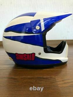 Exc++ Vintage SHOEI Motocross Helmet VX-SINISALO Size M withGoggle Rare