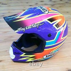Exc+ Vintage SHOEI VF-X Motocross Helmet Damon Bradshaw Replica Size M Used