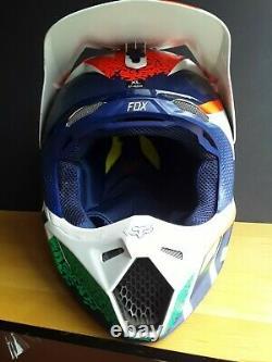 Fox vtg limited edition Japan racing helmet motocross divizion MENS XL v3 mips