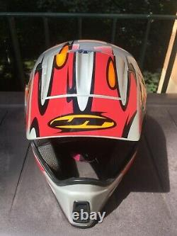 JT Racing ALS 3 Helm, Gr. M, Vintage MotoCross Helmet