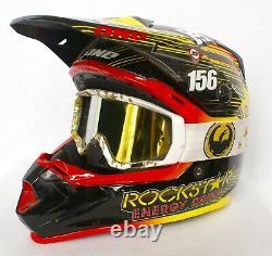 Jason Anderson Race Used Rockstar Energy Vintage Motocross Supercross MX Helmet
