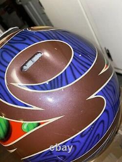 Jeremy McGrath Showtime II Vintage Bell Moto 6 Helmet 7 3/8