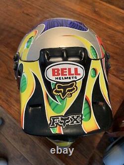 Jeremy McGrath Showtime Vintage Helmet Bell Motocross Medium