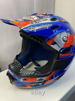 Jeremy Mcgrath Bell Moto 7 Vintage Motocross Helmet