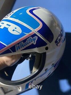 Jeremy Whatley Vintage Motocross Helmet