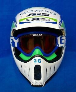 Jt Racing Als 2 Helmet Vintage Motocross Fox Racing Dirtbike MX Supercross Dg