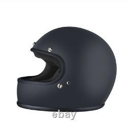 Motorcycle Helmet Full-Face Vintage FRP Motocross Helmet Cool DOT