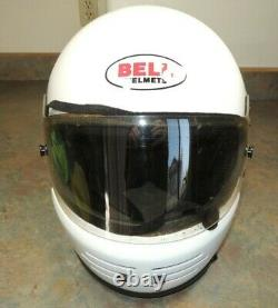 NICE BELL Mtwo M TWO Helmet Motocross Size 7 1/2 60 VINTAGE Motorcycle 70's 80's
