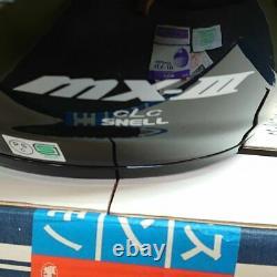 NOS Vintage Arai Motocross Helmet MX-III Black Size XL