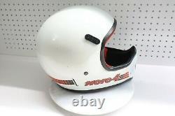 Nice Used Vintage Bell Moto 4 Helmet Motorcycle Dirt Bike Motocross 7-1/8 USA