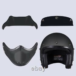 Open Face 3/4 Motorcycle Helmet Full Face Motocross Offroad Racing Multi Helmet