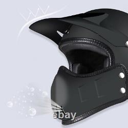 Open Face Motorcycle Helmet Full Face Motocross Racing Multifunction Helmet