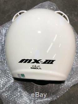 Rare! Arai Genuine Oem Vintage Motocross Helmet Mx-3 White Off Load M Size