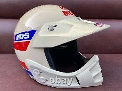 Rare Vintage MDS Italy Motocross BMX Helmet F140 / F150