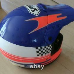 SHOEI HELMET Motocross Off Load Vintage