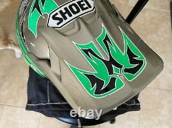 SHOEI VINTAGE MOTOCROSS GREEN Men's Large HELMET TROY LEE VFX-R