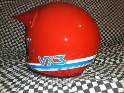 Shoei VX3 Vintage Motocross Helmet Size XL Brand New With Tags