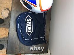 Shoei Vintage Motocross Helmet Size Large Very Nice
