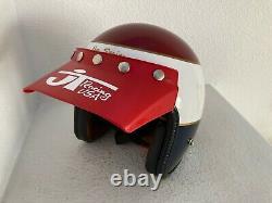 Team Honda vintage 70's tribute electro helmet, New XL dg fmf motocross