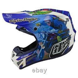 Troy Lee Designs SE4 Malcolm Smith Large MX Helmet TLD AHRMA Vintage Motocross