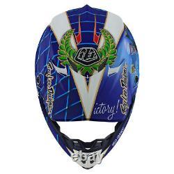 Troy Lee Designs SE4 Malcolm Smith Small MX Helmet TLD AHRMA Vintage Motocross