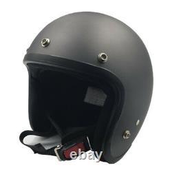 VCOROS Auto Motorcycle Helmet Vintage Motocross Chopper Half Face Helmets