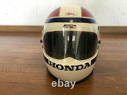 Vintage 1980 BELL STAR 4 HONDALINE Helmet HONDA INTERNATIONALHAWK Size L Rare