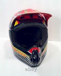 Vintage 1980's Motorcycle Motocross Snowmobile ATV Helmet Bell Or Shoei Sz X/L