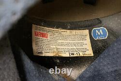 Vintage 1990s SHOEI Motorcycle Helmet Troy Lee Designs Motocross Japan Medium