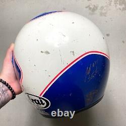 Vintage 1991 Arai Jeff Stanton Replica Motocross Helmet XL axo honda tx-10