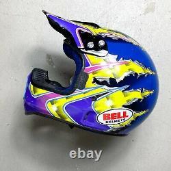 Vintage 1995 Mike Larocco Replica Moto 6 Bell Helmet 7 5/8 mcgrath axo fox msr